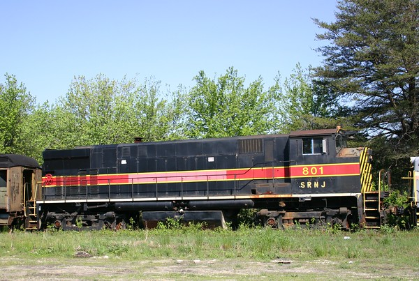Southern Railroad of New Jersey M420R No. 801