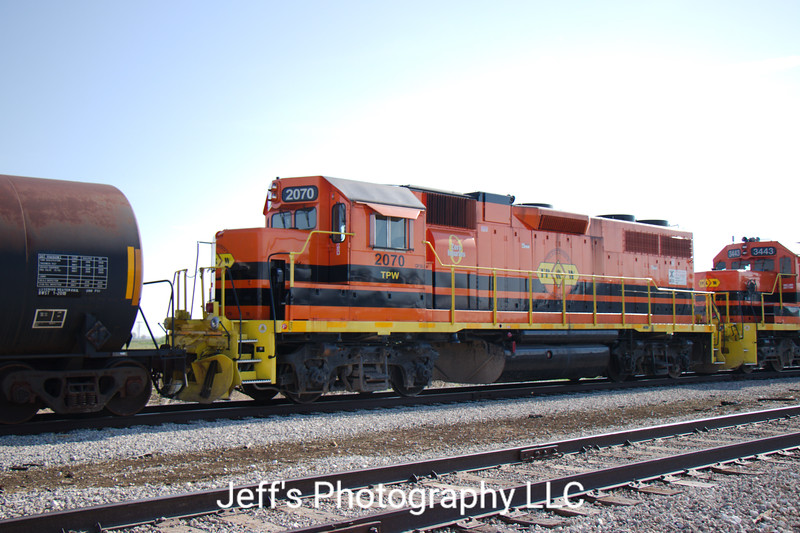 Toledo, Peoria & Western Railroad GP38-2 No. 2070
