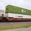 Utah Central Railway 53' Greenbrier Maxi Stack IV Well Car No. 57202