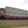 Utah Central Railway 53' Greenbrier Maxi Stack IV Well Car No. 57134