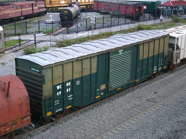 "Wellsboro & Corning Railroad 52'8"" FMC 5438 cu. ft. Single Door Boxcar No. 4905"