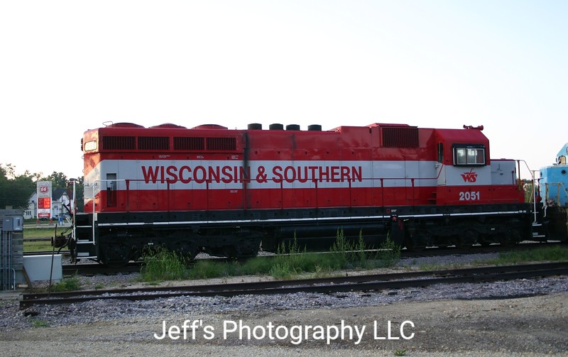Wisconsin & Southern Railroad SD20 No. 2051