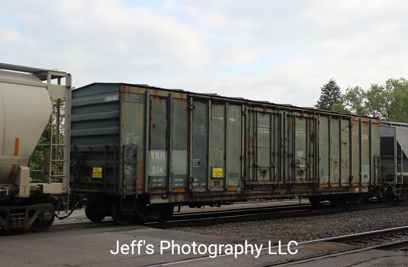 "York Railway 52'5"" Evans 5055 cu. ft. Double Plug Door Refrigerated Boxcar No. 914"