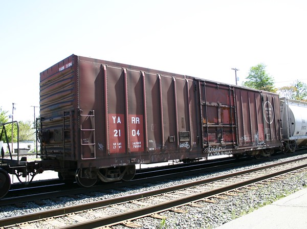 "Youngstown and Austintown Railroad 50'6"" PC&F 4767 cu. ft. Single Plug Door Boxcar No. 2104"