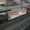 Youngstown and Austintown Railroad 3-Bay ACF 4600 cu. ft Centerflow Covered Hopper No. 50017