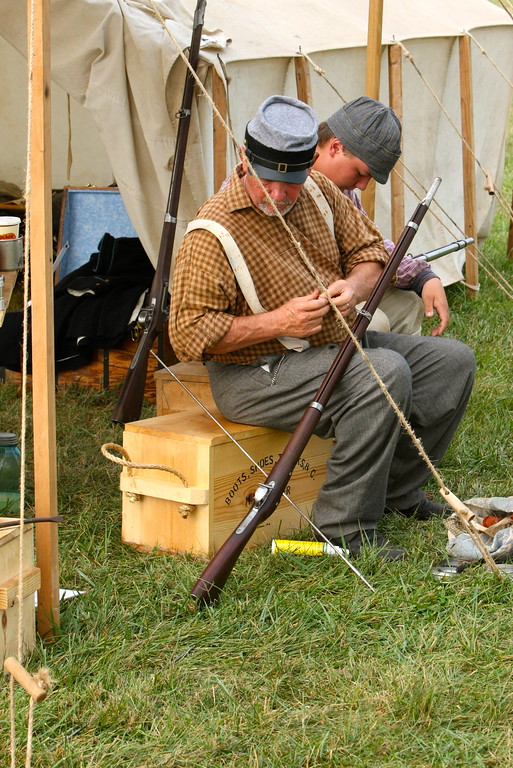 Confederate camp