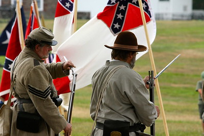 Confederate camp