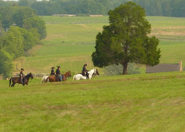 Cavalry patrol.