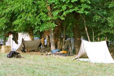 Cavalry camp