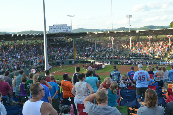 Little League World Series Outfield View