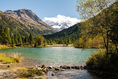 Morteratsch-Gletscher, Pontresina