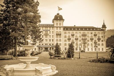 Grand Hotel des Bains, Kempinski, St. Moritz