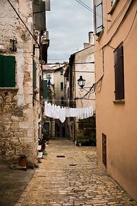 Die Altstadt von Rovinj.