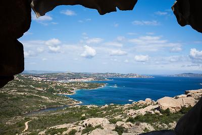 Capo d' Orso mit Sicht auf Palau.