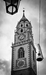 Kirche St. Nikolaus in Meran.