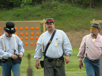 "This one is entitled ""the Three Stooges,"" members of the Laurel Brigade.  Photo submitted by Alan Spencer."