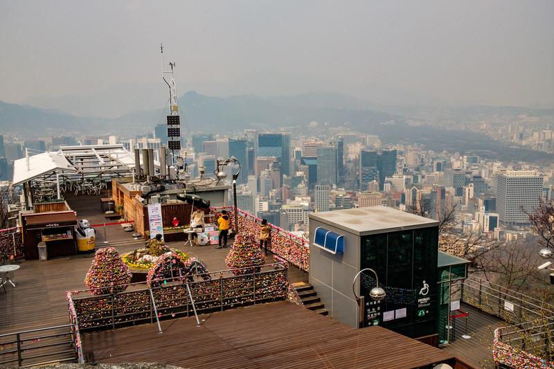 20170328 North Seoul Tower 009