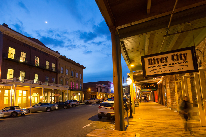 Old Sacramento at Sunfall