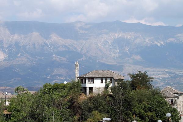 View across Gjirokastra, Albania
