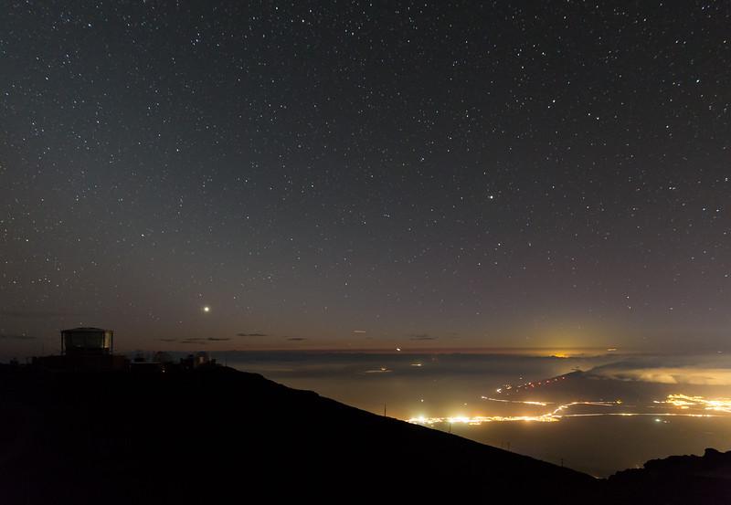 Stars over Maui