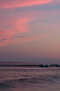 20040814 Destin Beach 052 red twlight clouds
