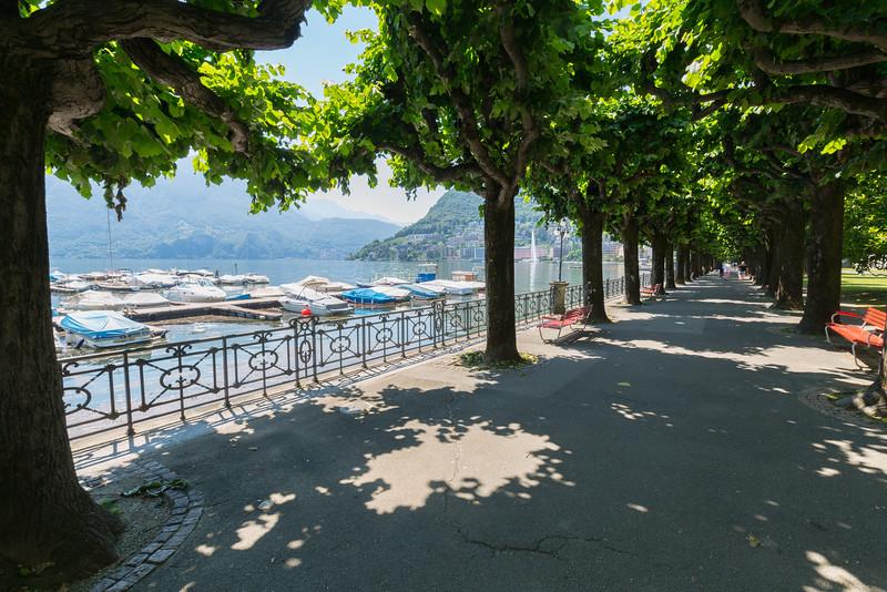 Promenade di Lugano