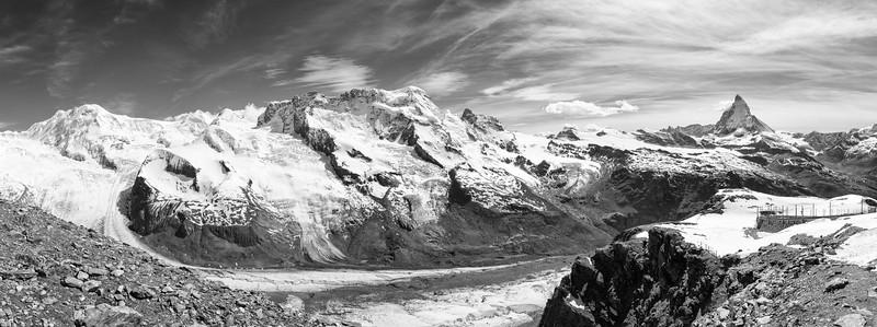 Gornergrat and the Matterhorn