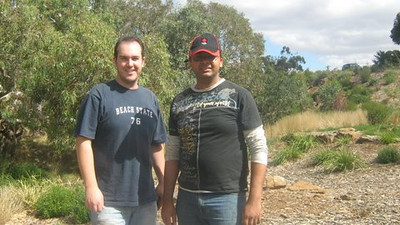On Thursday 14 May 2009, employee Volunteers from National Australia Bank (NAB) assisted FoTC with planting, weeding and watering at Toolern Creek.