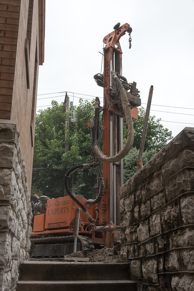 Geothermal Installation August 2015
