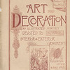 Art and Decoration Magazine Title Page