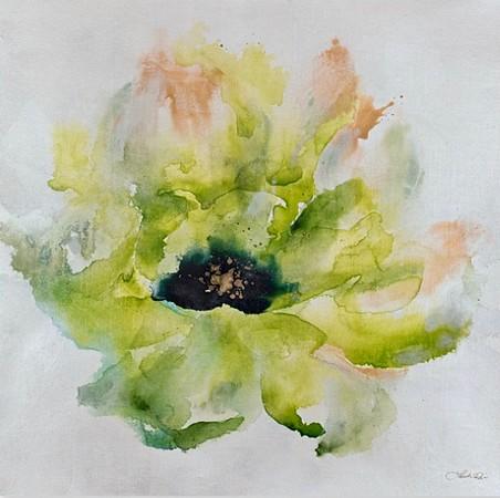 Summer Blooms III-Rei, 28x28 on canvas