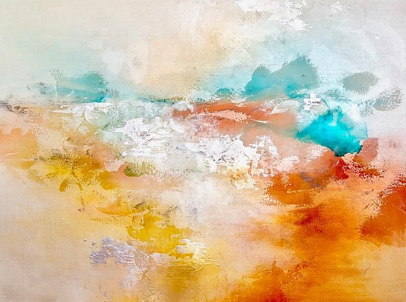 Blushing Views-Rei, 36x48 on canvas