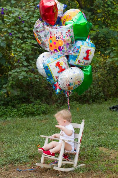 Reid 1st Birthday