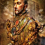 Reliquary Bust of Saint Francis Borgia