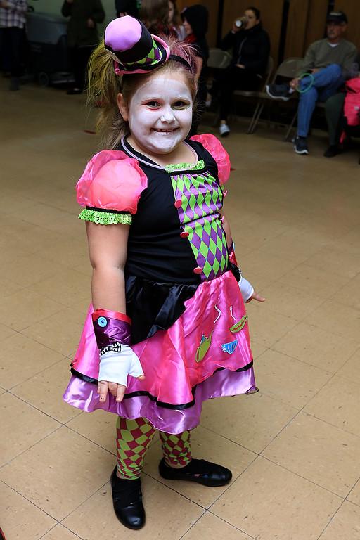 . Reingold Elementary held a Halloween dance on Friday night, October 26, 2018. SENTINEL & ENTERPRISE/JOHN LOVE
