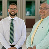 The new Reingold Elementary School Principal Albert Mercado, on right, with the new Vice Principal Justin Sparks Thursday, July 25, 2019. SENTINEL & ENTERPRISE/JOHN LOVE