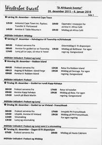 Program SA 2015-16001