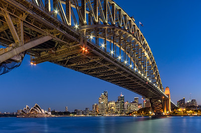 Sydney Harbour Bridge - Blue Hour