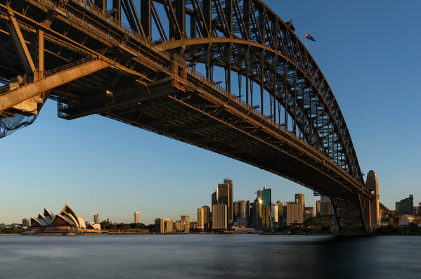 Sydney Harbour Bridge - Golden Hour