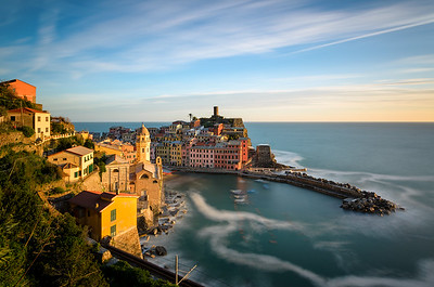 Farbenfrohes Vernazza
