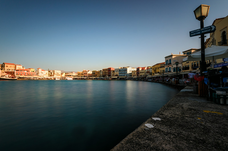 Chania Hafen auf Kreta