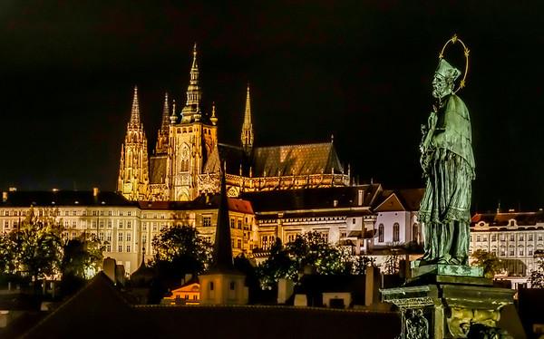 Praha - Karlsbroen de beste oktober 2016