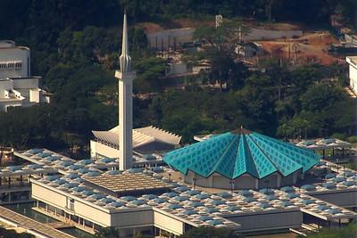 Die nationale Moschee