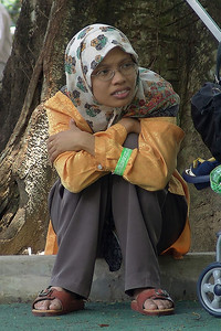 Muslimische Mütter sind oft noch sehr jung