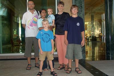 Familienphoto mit Wati vor Empire.