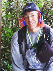 Russ Peterson Russ hat zusammen mit Febrina die Tour arrangiert. Vielen Dank! Er war wie immer perfekt ausgerüstet.