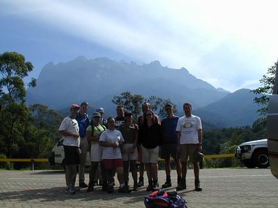 Gruppenphoto vorm Berg