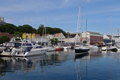 Der Hafen in Stavanger (Vaagen).