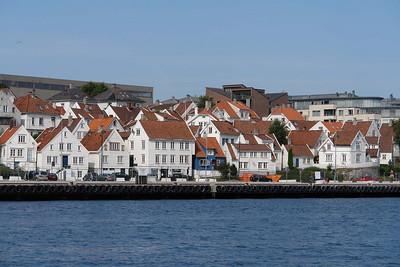 Stavangers Altstadt.