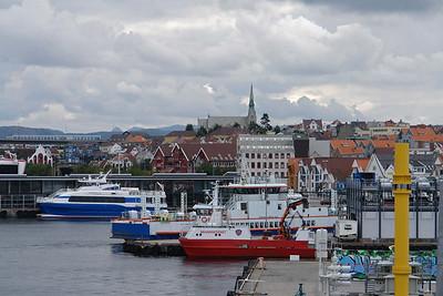 Die Stadt Stavanger hat sich mächtig entwickelt. Der Ölbranche geht's so gut wie nie und 2008 ist Stavanger Kulturhauptstadt Europas!